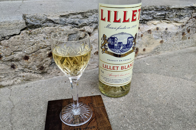 Lillet Blanc & A Glass