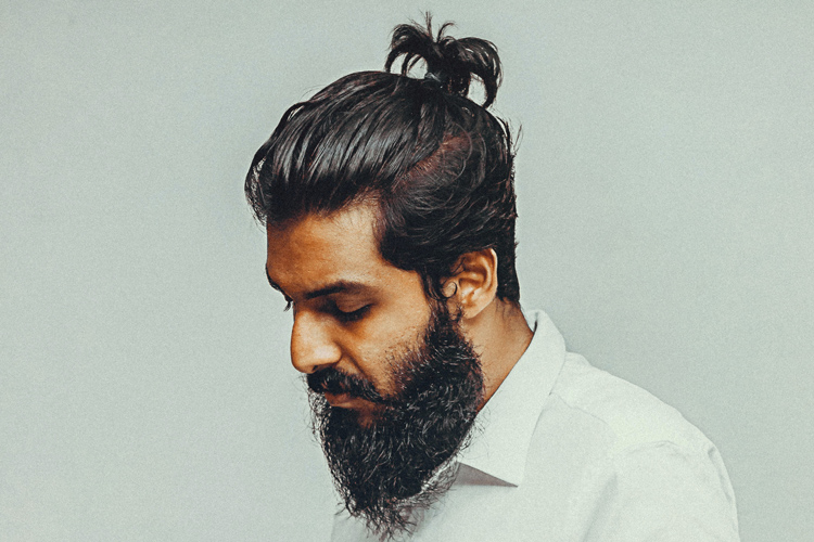 How To Do A Top Knot Male