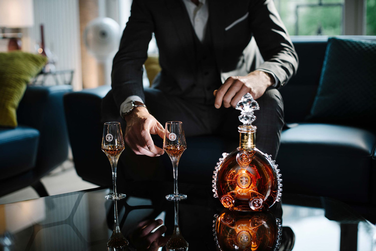 Louis XIII Cognac & Tasting Glasses