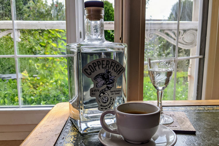 Copperfish Distillery Moonshine & Espresso