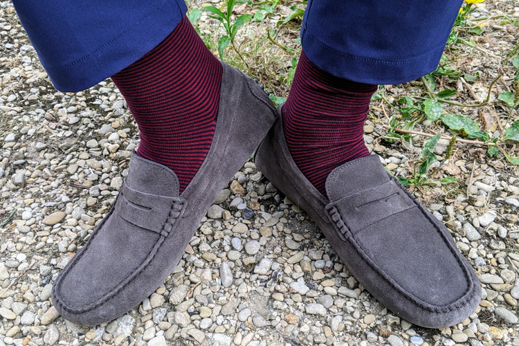 Oliver Cabell Drivers With Twillory Socks & Pants