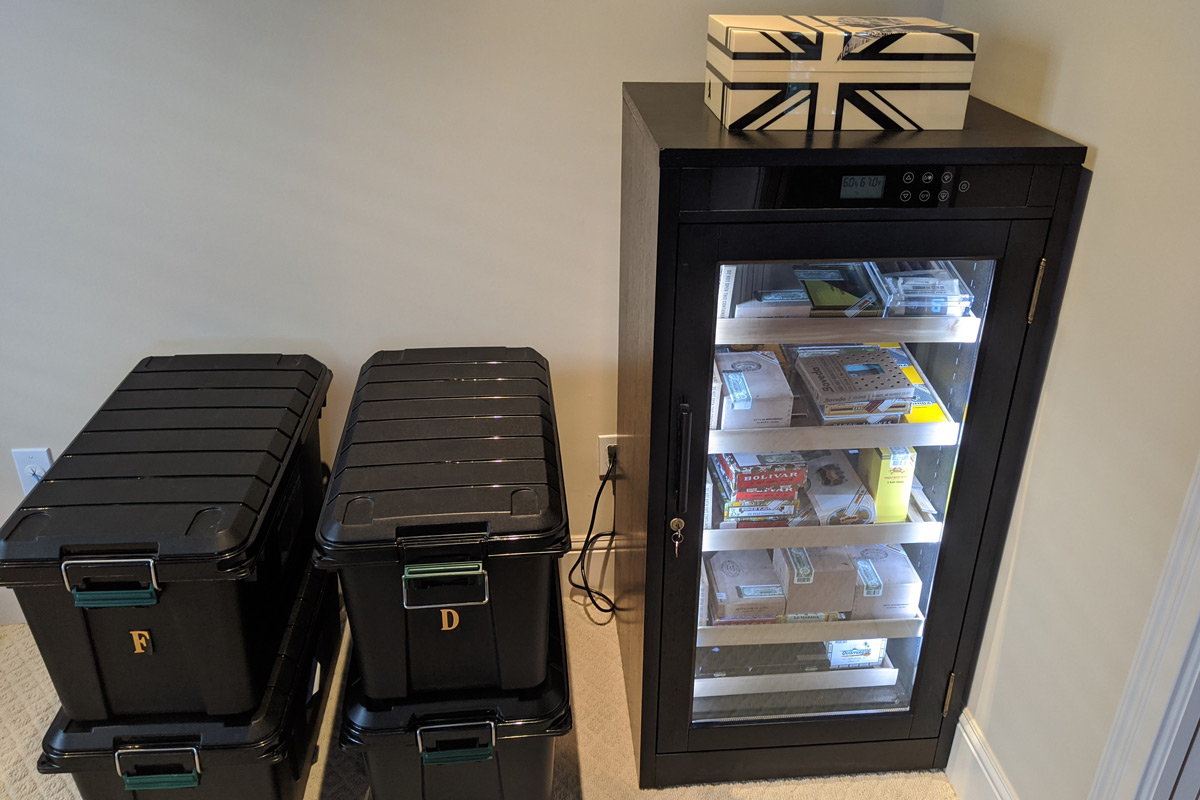 Redford Lite Cigar Cabinet Humidor Review
