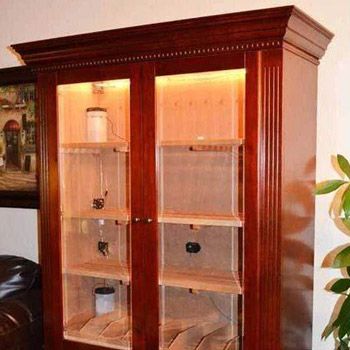 5,000 Commercial Cigar Cabinet