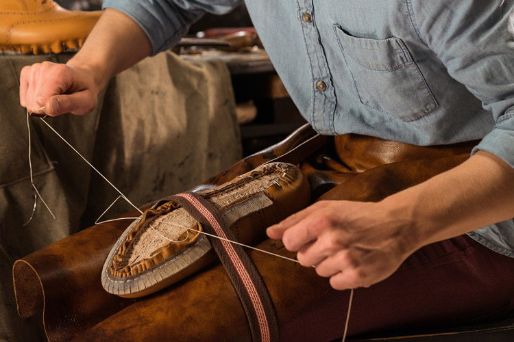 Bondeno Shoes Being Made
